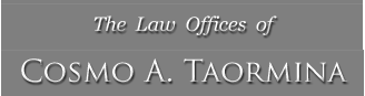 The Law Offices of Cosmo A. Taormina logo