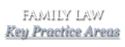 Family Law Key Practice Areas